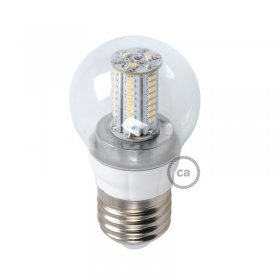 Ampoule LED Sphère 4W E14 3000K Claire