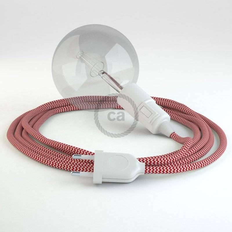 Créez votre Snake ZigZag Rouge RZ09 et apportez la lumière là où vous souhaitez.