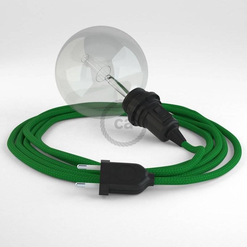 Créez votre Snake pour Abat-jour Effet Soie Vert RM06 et apportez la lumière là où vous souhaitez.