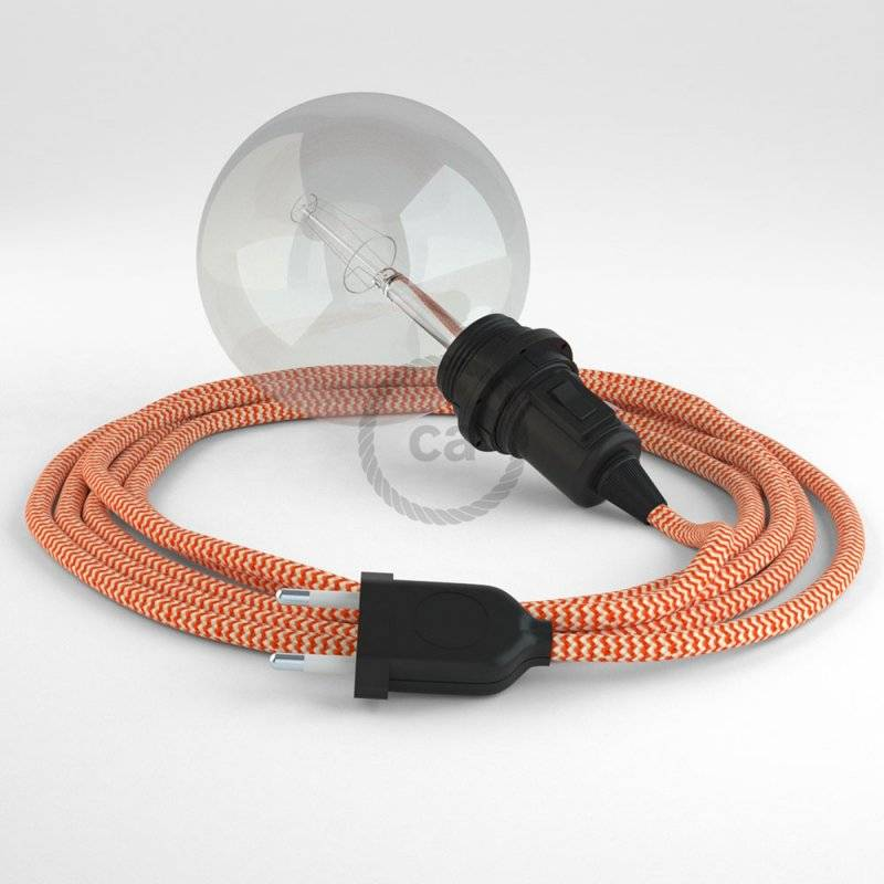 Créez votre Snake pour Abat-jour ZigZag Orange RZ15 et apportez la lumière là où vous souhaitez.