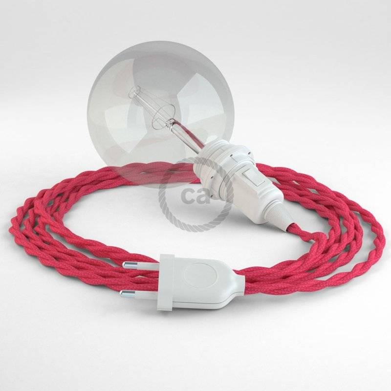 Créez votre Snake pour Abat-jour Effet Soie Fuchsia TM08 et apportez la lumière là où vous souhaitez.