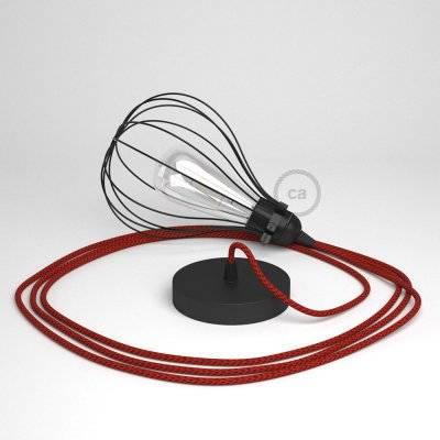 Prêtes pour être accrochées - Voilà les nouvelles lampes baladeuses avec cage abat-jour Creative-Cables!