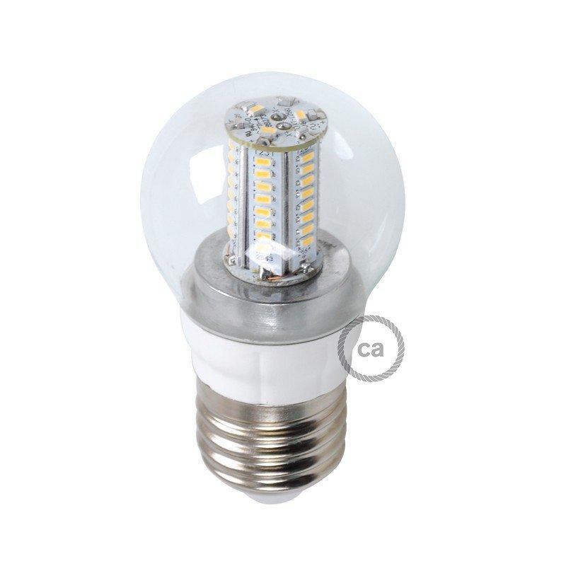 Ampoule LED Sphère 4W E14 Claire