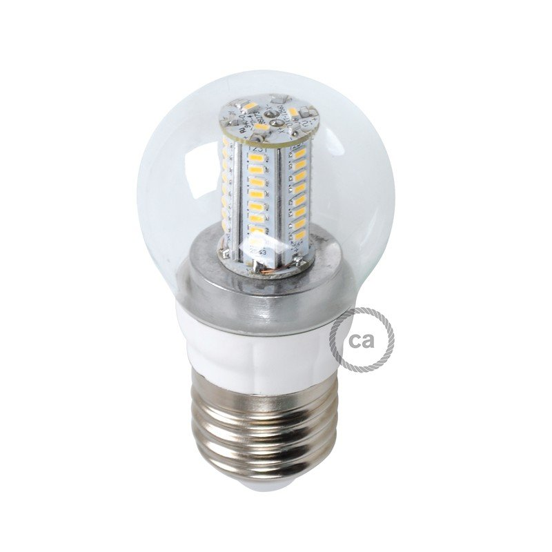 Ampoule LED Sphère 4W E27 Claire