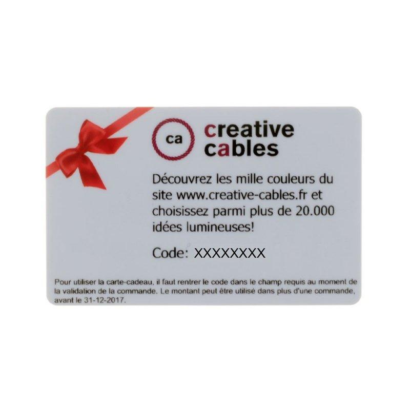 Carte cadeau Creative-Cables 25 Euros