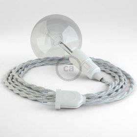 Créez votre Snake Effet Soie Argent TM02 et apportez la lumière là où vous souhaitez.
