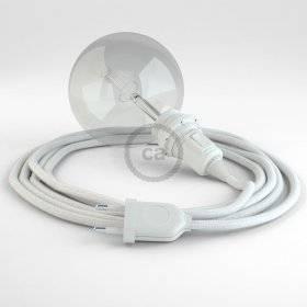 Créez votre Snake pour Abat-jour Coton Blanc RC01 et apportez la lumière là où vous souhaitez.
