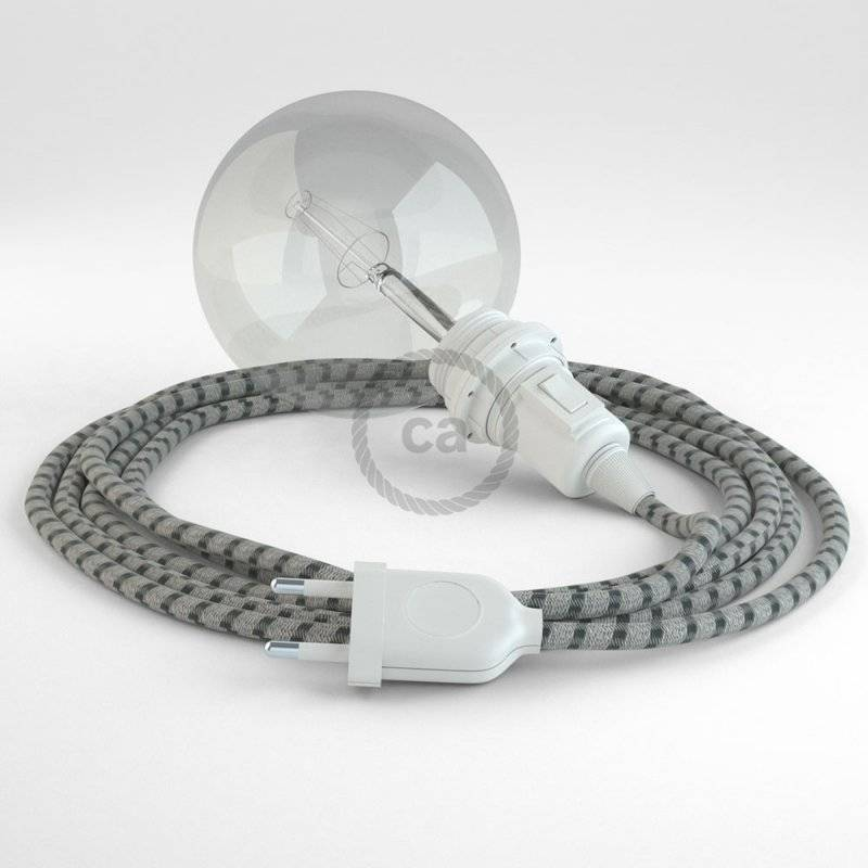 Créez votre Snake pour Abat-jour Stripes Anthracite RD54 et apportez la lumière là où vous souhaitez.
