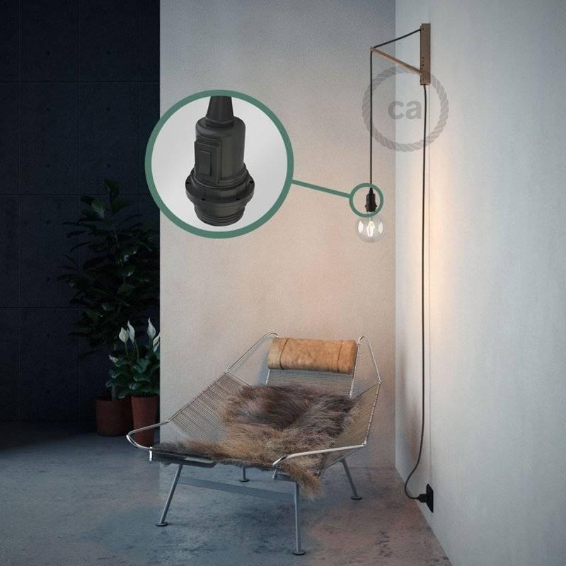 Créez votre Snake pour Abat-jour Effet Soie Gris RM03 et apportez la lumière là où vous souhaitez.