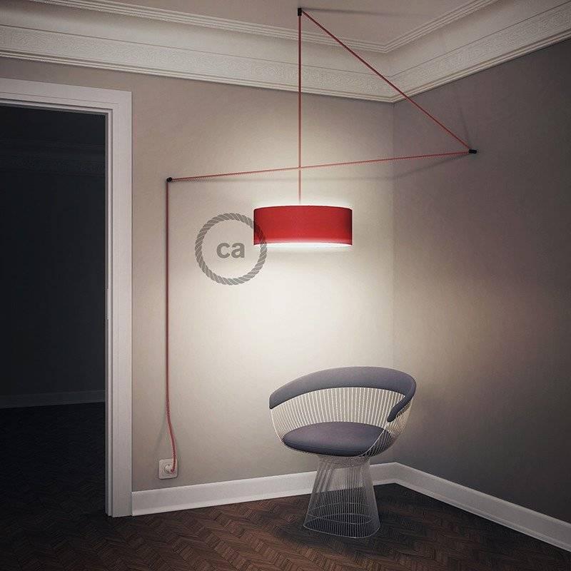 Créez votre Snake pour Abat-jour Bicolore Rouge RP09 et apportez la lumière là où vous souhaitez.