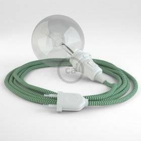 Créez votre Snake pour Abat-jour ZigZag Vert RZ06 et apportez la lumière là où vous souhaitez.