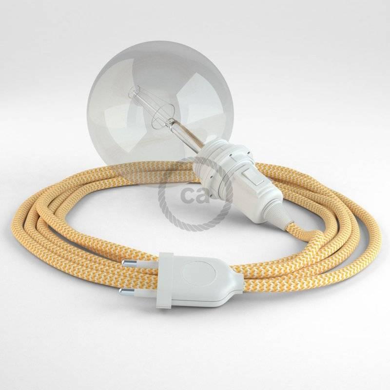 Créez votre Snake pour Abat-jour ZigZag Jaune RZ10 et apportez la lumière là où vous souhaitez.