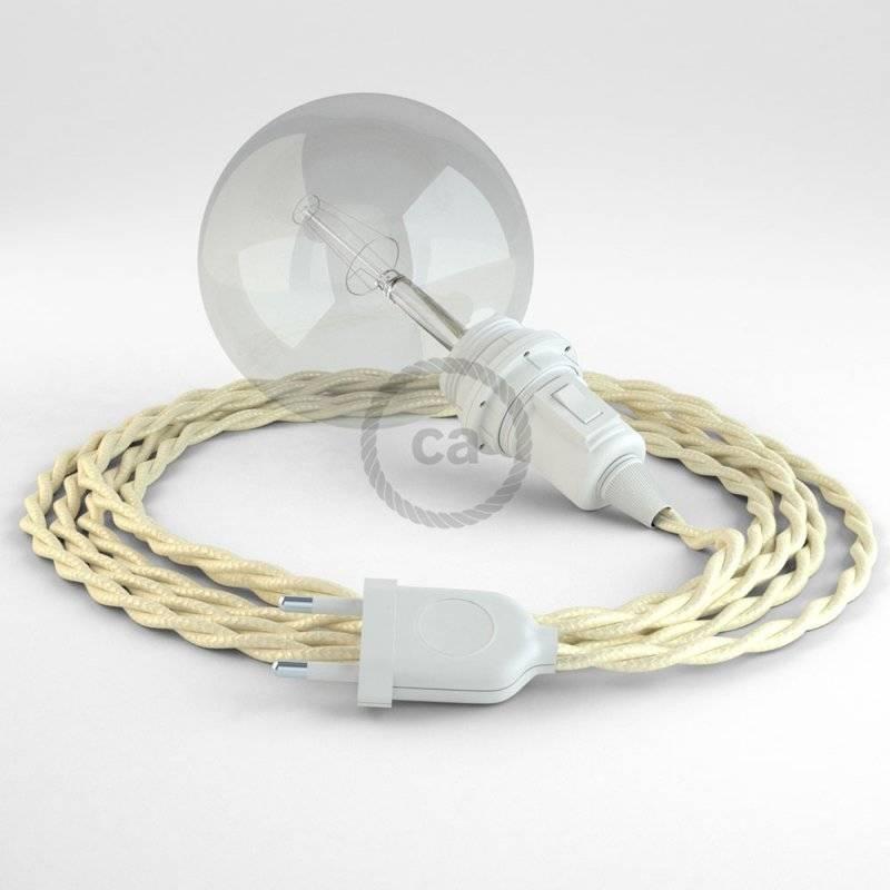 Créez votre Snake pour Abat-jour Effet Soie Ivoire TM00 et apportez la lumière là où vous souhaitez.