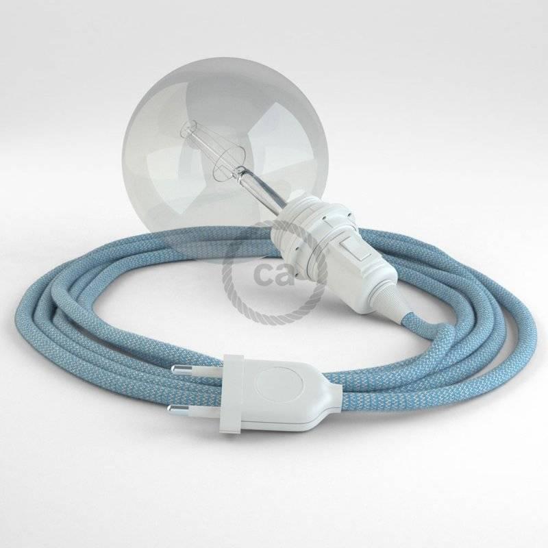 Créez votre Snake pour Abat-jour ZigZag Bleu Steward RD75 et apportez la lumière là où vous souhaitez.