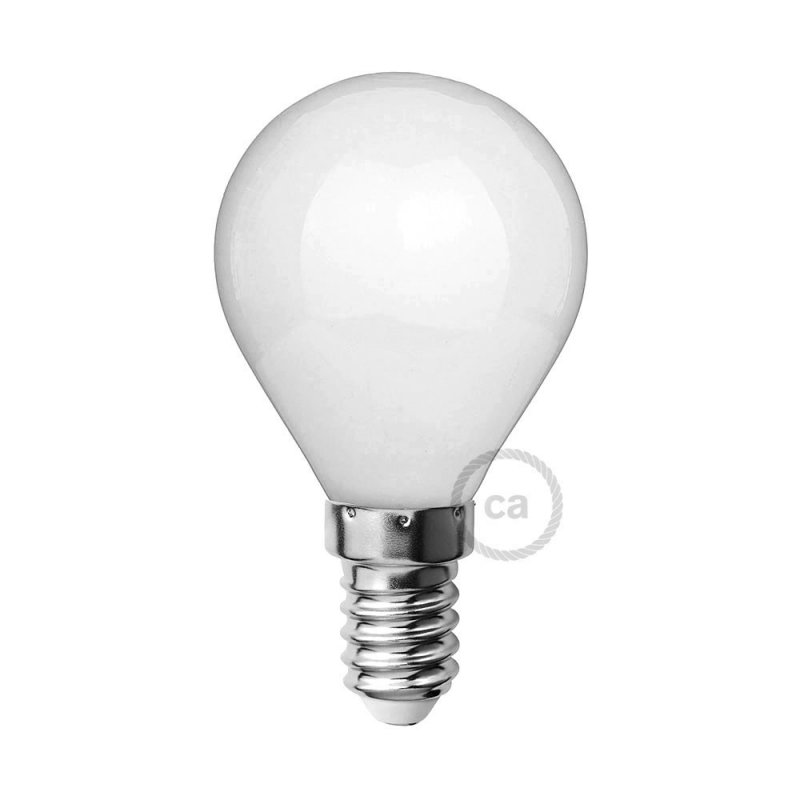 Ampoule LED blanc lait - Mini Globe G45 - 4W E14 Dimmable 2700K