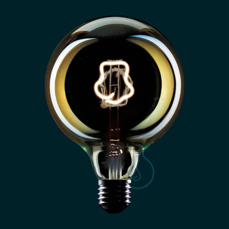 Ampoule Led Globo G125 série Masterchef filament Toque Blanche 4W E27 Dimmable 2000K
