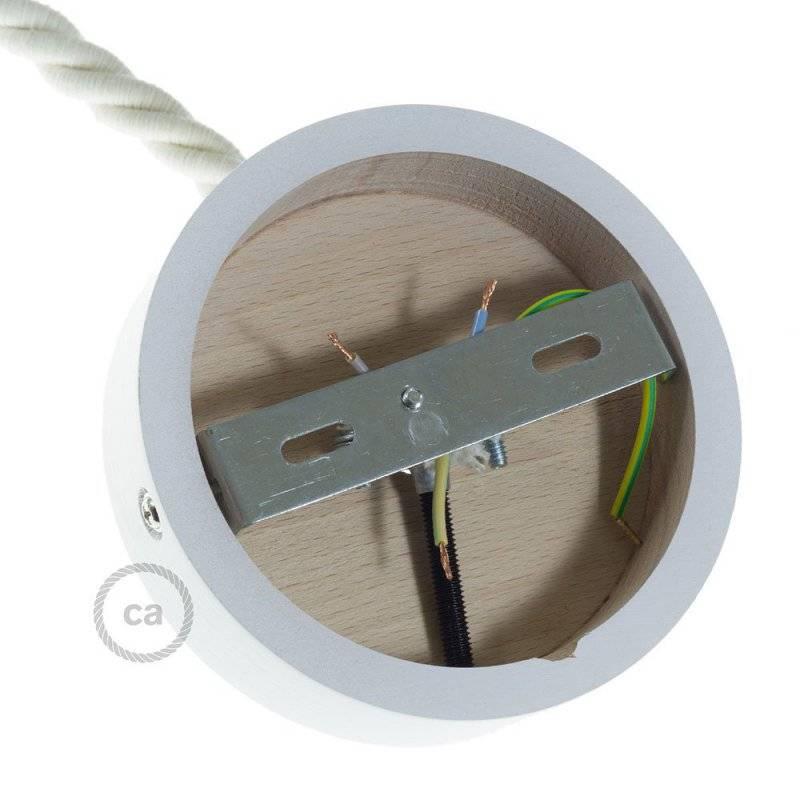 Kit rosace en bois pour corde XL
