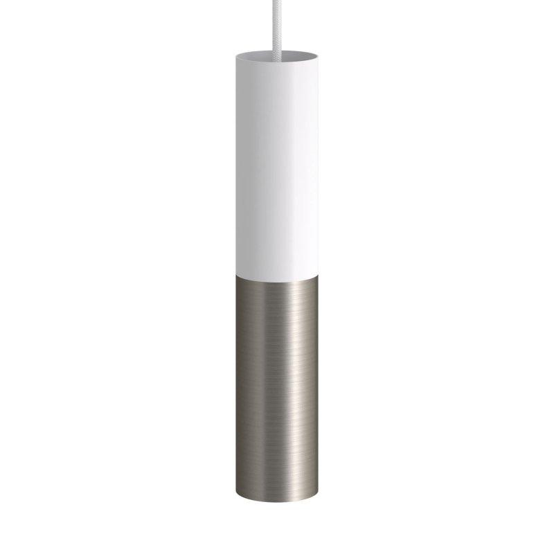 Tub-E14, tube en métal double pour spot et double bague E14