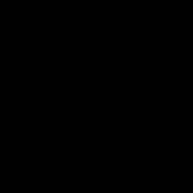 suspension simple 1m RM10 rosace et douille en métal noir