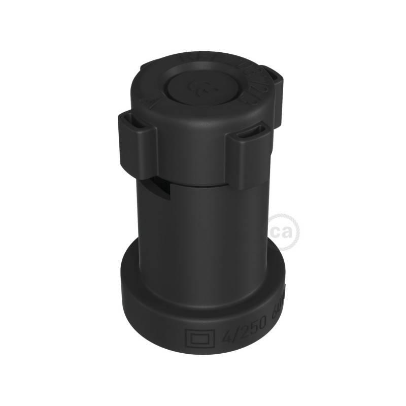 Douille E27 pour Système Lumet en thermoplastique noire