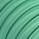 Câble électrique pour Guirlande recouvert en tissu Effet soie Opale CH69