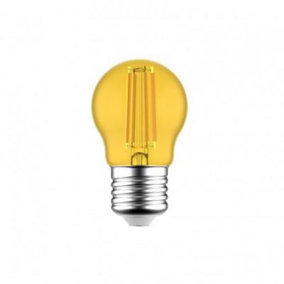 Ampoule LED Mini Globe G45 Décorative Jaune 1.4W E27