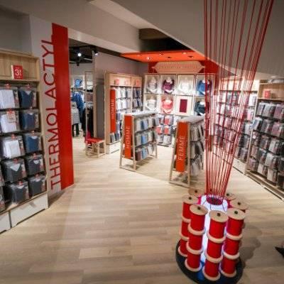Damart a inauguré son premier concept store