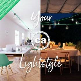 Guirlandes: outdoor lighting marqué Creative-Cables