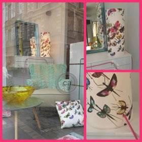 Florence Moulins: lampe en tissu