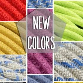 Nouvelles couleurs, nouveaux tissus: choisissez votre câble préféré
