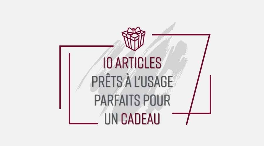 0 ARTICLES PRÊTS À L'USAGE PARFAITS POUR UN CADEAU